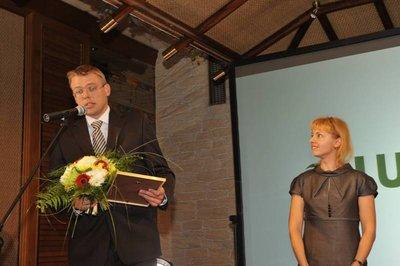 DB TOP500 apbalvošanas ceremonija